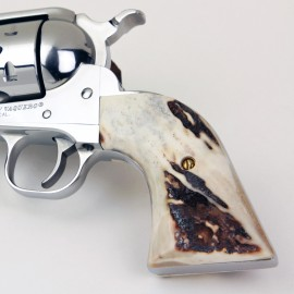 Ruger Redhawk Square Butt Sambar Stag Grips