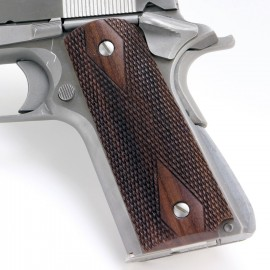 Colt 1911 Rosewood Grips Smooth