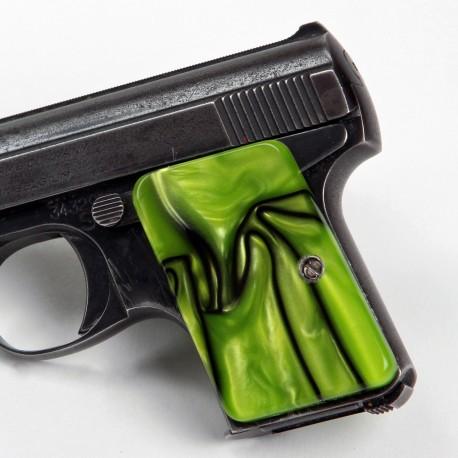Baby Browning .25 Auto Kirinite® Toxic Green Grips