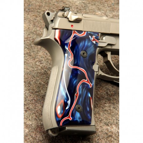 Beretta 92/M9 Series Kirinite Patriot Grips