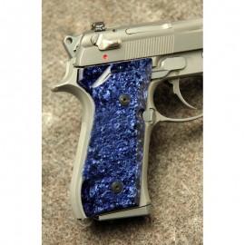Beretta 92/M9 Series Kirinite® Blue Ice Grips