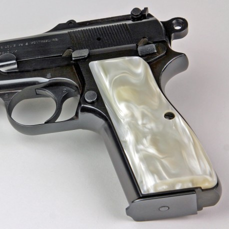 Beretta 92/M9 Series Kirinite Antique Pearl Grips