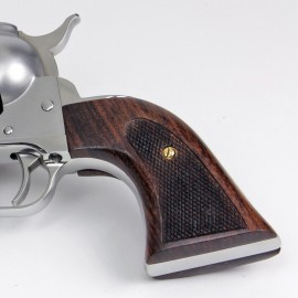 "Ruger ""Old"" Vaquero Rosewood Evil Roy Action Grips"