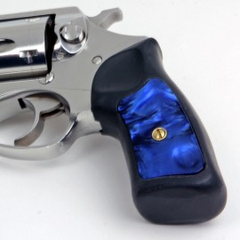 Ruger SP101 Kirinite® Blue Pearl Grip Inserts