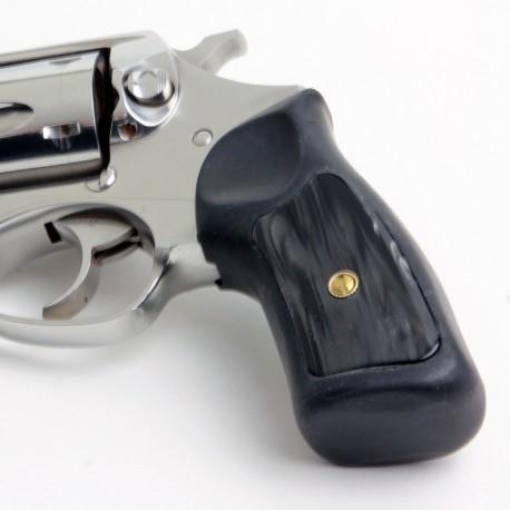 Ruger GP100 & Super Redhawk Kirinite® Black Pearl Grip Inserts