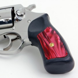 Ruger SP101 Kirinite® Red Pearl Grip Inserts