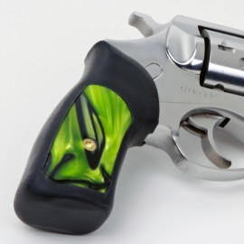 Ruger SP101 Kirinite® Toxic Green Grip Inserts