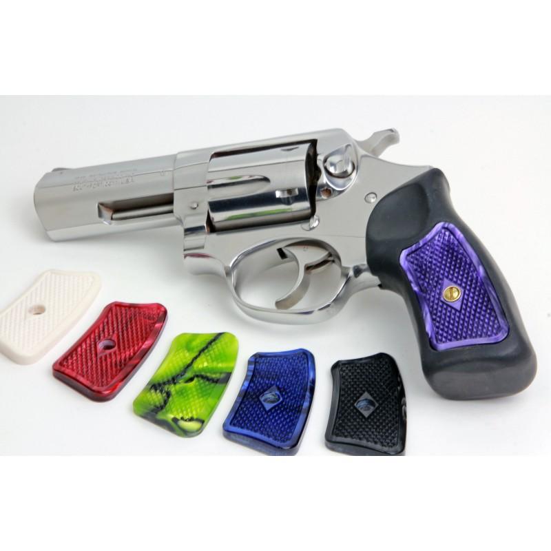 Ruger GP100 & Super Redhawk Kirinite® White Pearl Grip Inserts