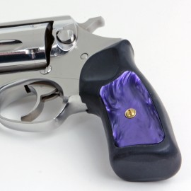 Ruger SP101 Kirinite® Wicked Purple Grip Inserts