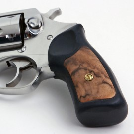 Ruger SP101 Exhibition Walnut Grip Inserts