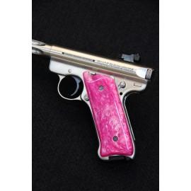 Ruger MKIII Pink Kirinite Grips