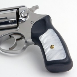 Ruger GP100 & Super Redhawk Kirinite® White Pearl Grip Inserts