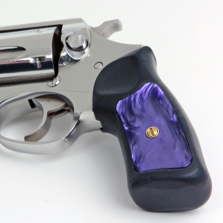 Ruger GP100 & Super Redhawk Kirinite® Wicked Purple Grip Inserts