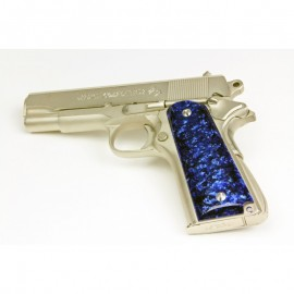 Ruger MKIII Blue Kirinite Grips