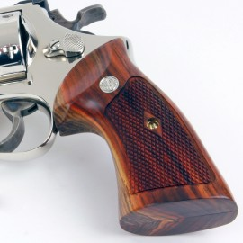 S&W N Frame Square Butt Cocobolo Heritage Grips