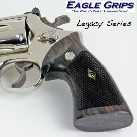 S&W N Frame Square Butt Gabon Ebony Heritage Grips