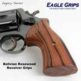 S&W K & L Frame Square Butt Bolivian Rosewood Heritage Grips