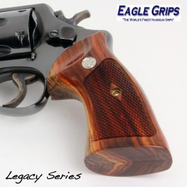 S&W N Frame Round Butt Cocobolo Heritage Grips