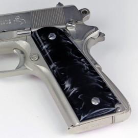 1911 Kirinite® Black Pearl Grips