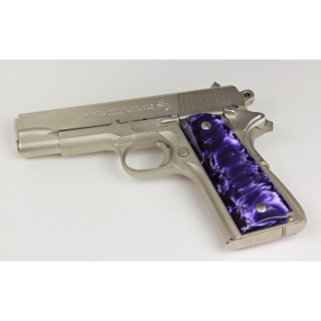 1911 - Kirinite™ Pistol Grips - Wicked Purple