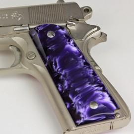 1911 Kirinite® Wicked Purple Grips