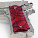 1911 Officer's Compact Kirinite® Red Pearl Grips