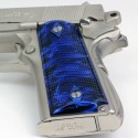 1911 Officer's Compact Kirinite® Blue Pearl Grips
