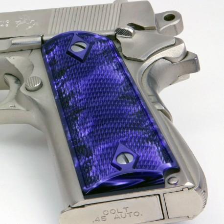 1911 - Kirinite™ Pistol Grips - Purple Perfection