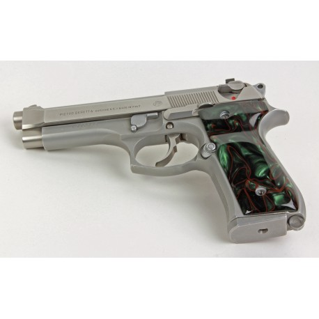 Beretta 92/M9 Series Kirinite® Jungle Camo Grips