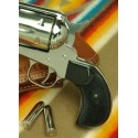 Ruger Birdshead BLACK POLYMER Gunfighter Grips - CHECKERED