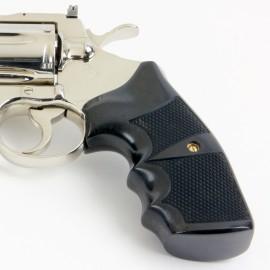 "Colt Python & Official Police Combat ""Legacy"" Gabon Ebony Grip"