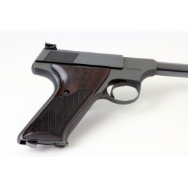Colt Woodsman 2nd Gen. East Indian Rosewood Grips Checkered