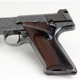 Colt Woodsman 3rd Gen. Right Handed Thumbrest East Indian Rosewood Grips Smooth