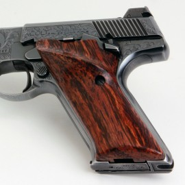 Colt Woodsman Third Generation Cocobolo Grips Smooth w/Right Hand Thumbrest