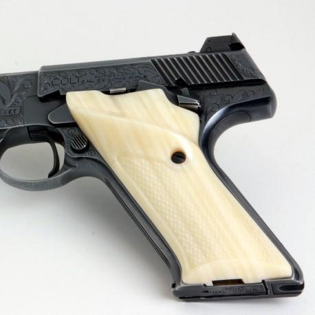 Colt Woodsman Second Generation Kirinite® Ivory Grips Checkered