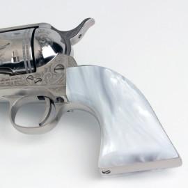 Colt SAA Kirinite® White Pearl Grips