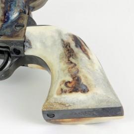 Colt SAA Sambar Stag Grips