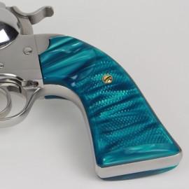 Ruger Bisley Gunfighter Kirinite® Aqua Marine Grips