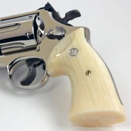 S&W K/L Frame Square Butt Kirinite® Ivory Heritage Grips