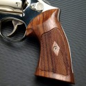 S&W N Frame Square Butt Rosewood Heritage Grips