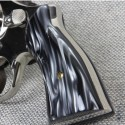 S&W N Frame Square Butt Kirinite® Black Pearl Grips