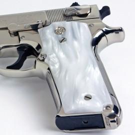 S&W Model 59 Series Kirinite® White Pearl Grips