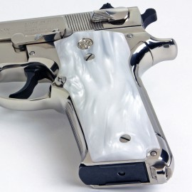 S&W Model 39 Series Kirinite® White Pearl Grips