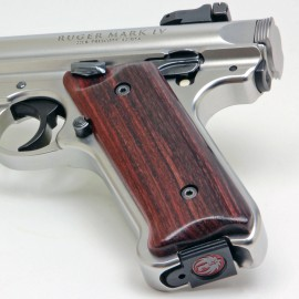 Ruger Mark IV Indian Rosewood Grips