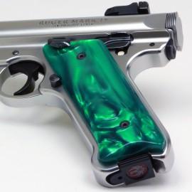 Ruger Mark IV Kirinite® Green Pearl Grips