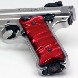 Ruger Mark IV Kirinite® Red Pearl Grips