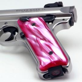 Ruger Mark IV Atomic Pink Kirinite Grips