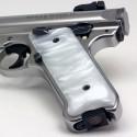 Ruger Mark IV Kirinite® White Pearl Grips