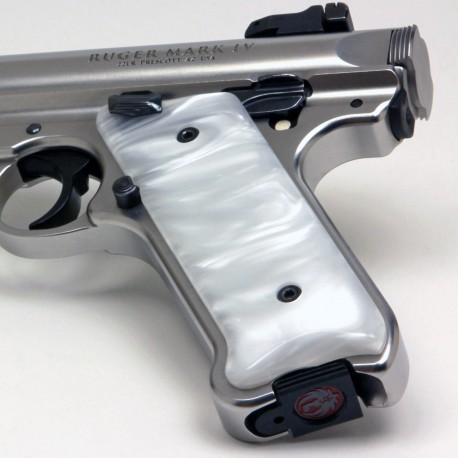 Ruger Mark IV White Pearl Kirinite® Grips