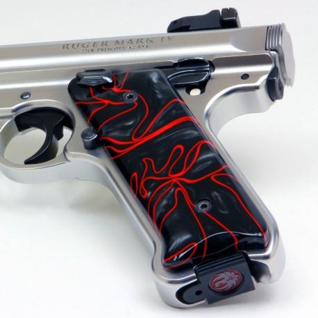 Ruger Mark IV Kirinite® Lava Flow Grips